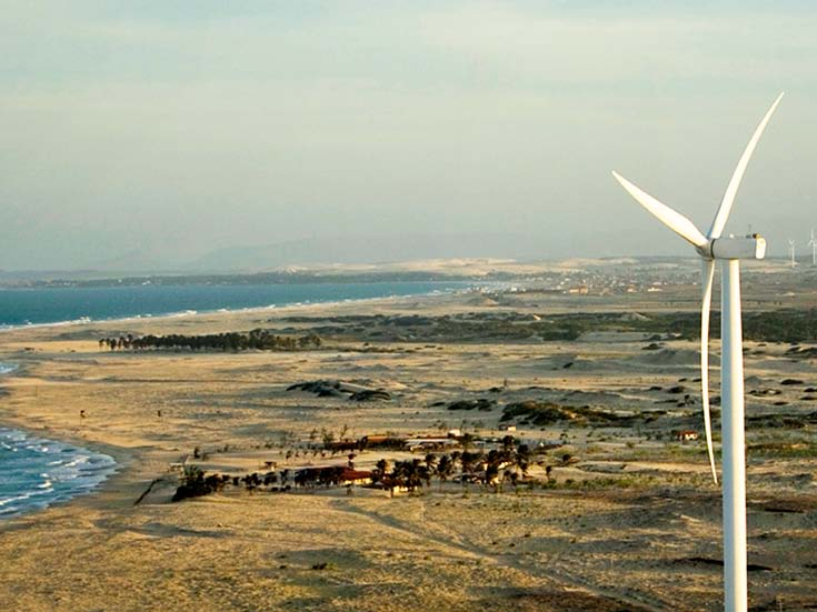 Paracuru wind farm Suzlon The whole system would benefit substantially from a reduction in costs as the result of an in-depth review of the current tax scheme in place for wind energy generation,
