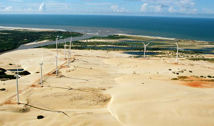 Analysis of the regulatory framework for wind power generation in Brazil Beberibe wind farm Suzlon 4.