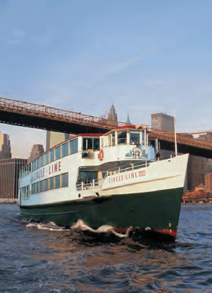 Hot Tips Sightseeing ruises Take to the waterways for outstanding views of New York s legendary skyline.