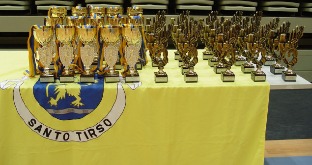 o campeonato de Karate do Concelho de S.to Tirso.