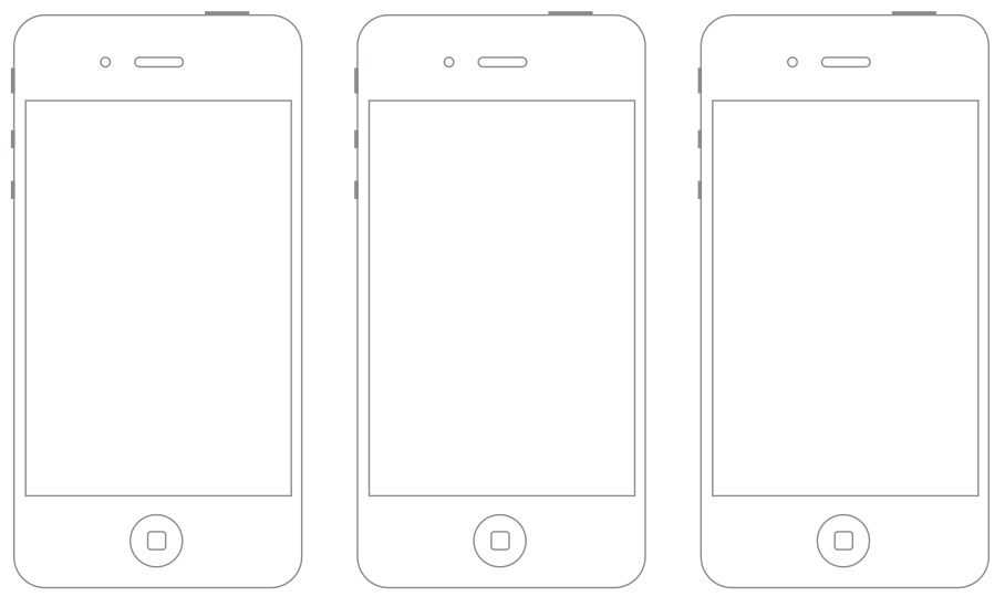 Wireframe Sketch Sheet - Android