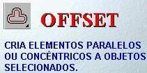 5.4 - OFFSET (Modify<Offset) ( O, via teclado) Command: OFFSET Specify offset distance or [Through] <1.