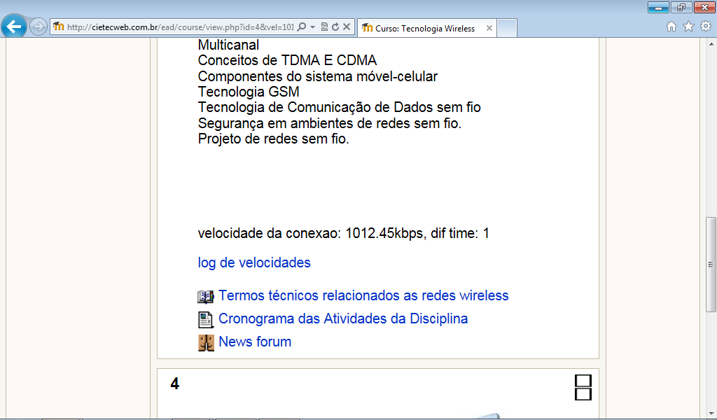 71 Figura 18: Tela do Moodle U-SEA com