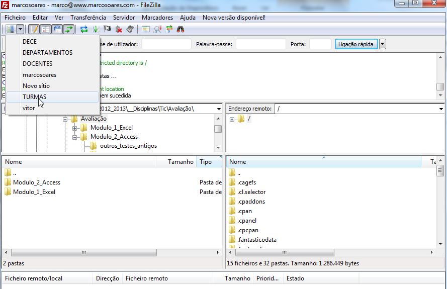 FileZilla Portable Agora basta