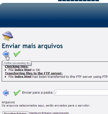 cliente ftp web do