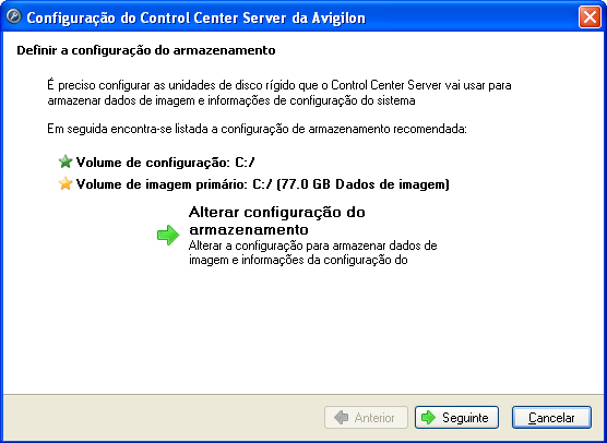 Guia do Usuário do Avigilon Control Center Server Figura A.