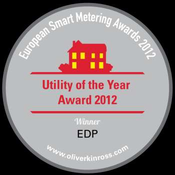EDP, Utility of the Year Award 2012.
