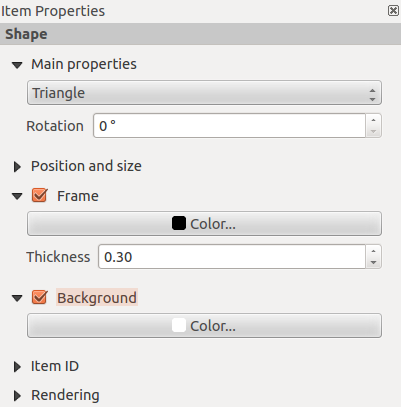 Figura 18.20: Scalebar Display, Fonts and colors Dialogs You can define how the scalebar will be displayed in its frame.