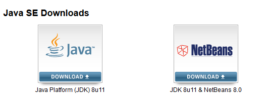 JDK & NetBeans - Download http://www.oracle.
