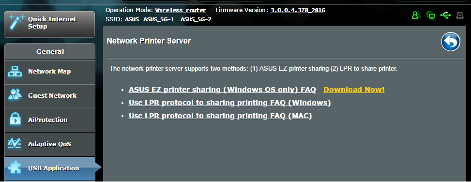 NOTA: A função de servidor de impressão é suportada no Windows Vista e Windows 7. Para configurar o modo de partilha do EZ Printer: 1.