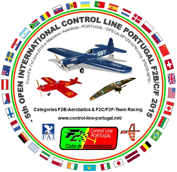 5th OPEN INTERNACIONAL - CONTROL LINE PORTUGAL - F2 WORLD CUP Event -F2C-F2F 06 and 07 of June 2015 (