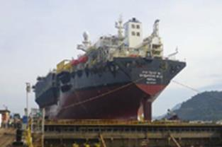 rte field (Brazil) - Under construction at COSCO Dalian shipyard Cidade de Caraguatatuba MV27 Tullow T.E.N.