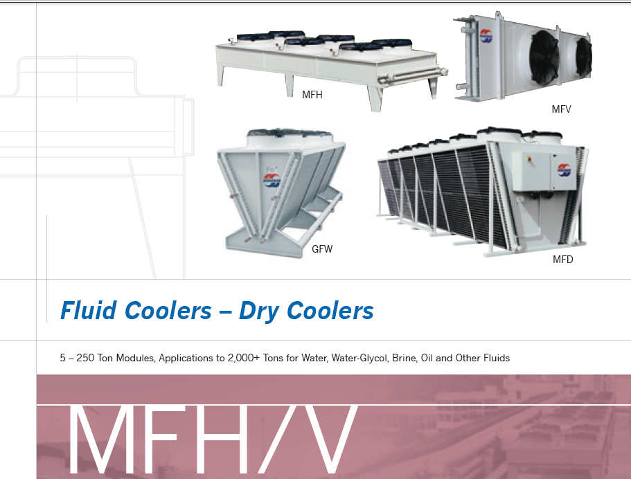 RESFRIADOR A AR PARA FLUIDOS DRY COOLERS / AIR COOLERS