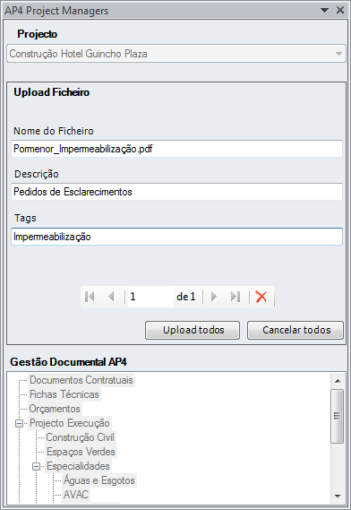 Add-In para o MS Outlook Sincronizar ficheiros