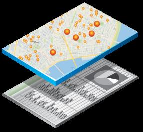 Esri Maps for Office Transforme dados em mapas