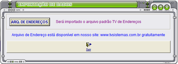 D Ajuda do Sistema Exibe o Help On-Line do CIAF.