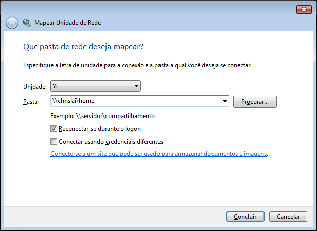 Método 3: Use o Windows Explorer.