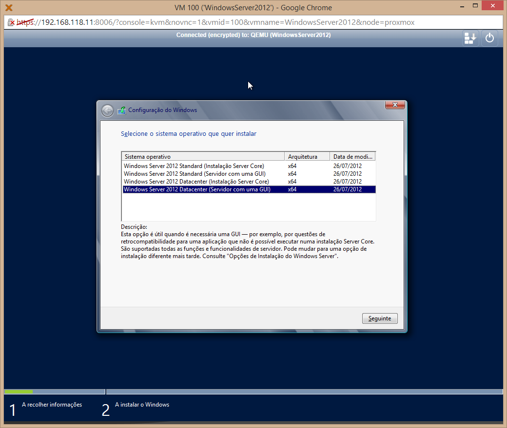 Figura 93 - Windows Server 2012