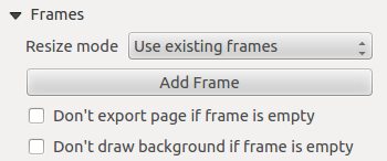 Figure 18.37: HTML frame, the HTML Source properties In URL you can enter the URL of a webpage you copied from your internet browser or select an HTML file using the browse button.