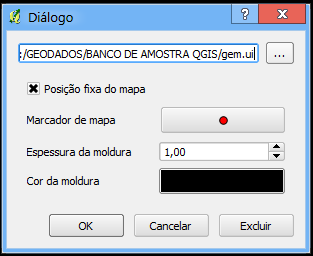 Figura 7.8: Annotation text dialog symbol) or to have the item on a screen position (not related to the map). The item can be moved by map position (drag the map marker) or by moving only the balloon.