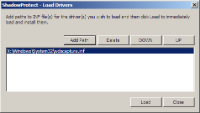 7 Loading Drivers Recovery Environment lets you dynamically load storage or network drivers.