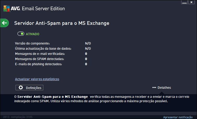 6. Servidor Anti-Spam para o MS Exchange 6.1.