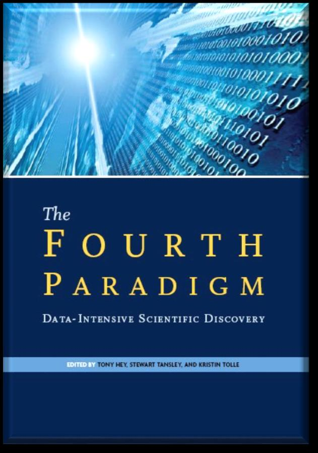 O quarto paradigma The speed at which any given scientific discipline advances will depend on how well its researchers collaborate with one another, and with technologists, in areas of e- Science