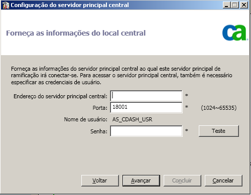 Configurar o Painel global Configurar um local de filial Um local de filial precisa estar registrado no local central para ativar a sincronização dos dados relacionados ao painel com o local central.