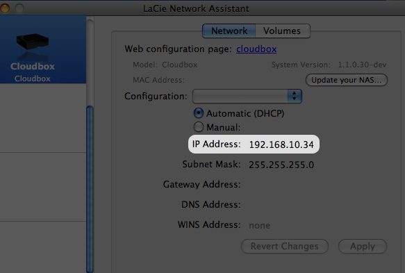 (utilizadores do Mac) e seleccione CloudBox > Web Access... (Acesso à Web...) (Fig. 48). Fig.