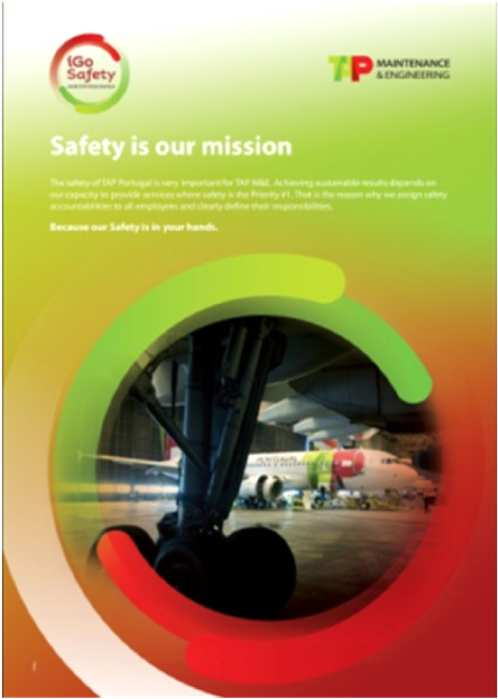 Safety Communication Poster campaigns Safety education Risk awareness Voluntary report Just