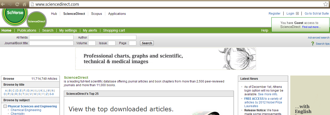 Como acessar o ScienceDirect