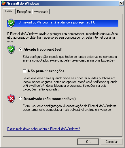 2. Abra o item denominado Firewall do Windows: U3 Sistemas