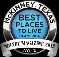 The BEST City for the growth of your business McKinney, Texas!