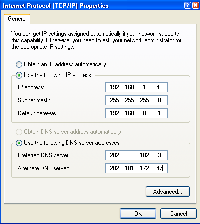 5. Verifique IP ADDRESS (Endereç IP), a SUBNET MASK (Máscara de sub-rede), e DEFAULT GATEWAY (Gateway padrã) n PC. 6.