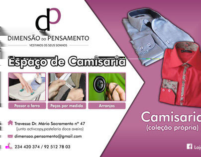 Dimensão Pensamento Flyers Published: 25/03/2014 Creative Fields: