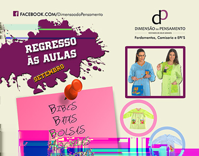 "Dimensão Pensamento - Campaign Banner made for ""Dimensão do pensamento"" (local"