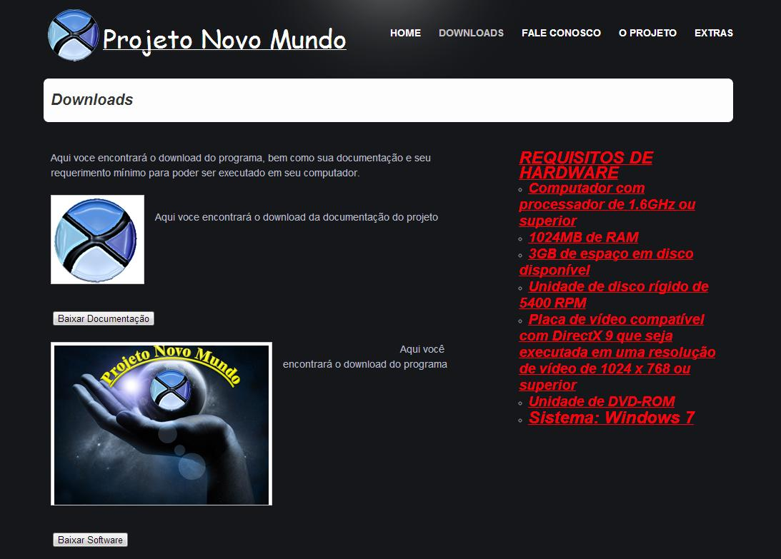 26 Figura 3: Site, downloads.