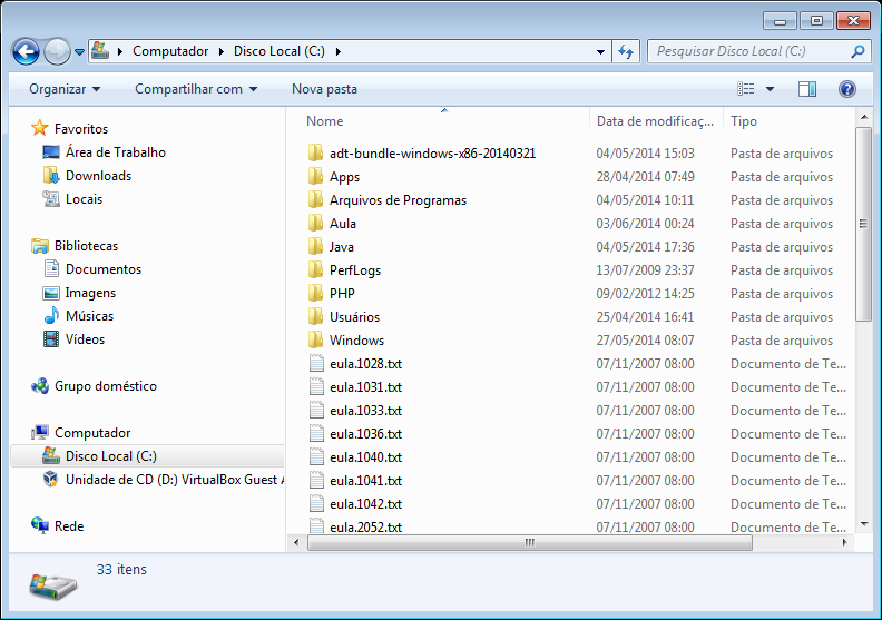 Computador Antigo Windows Explorer; Gerenciador de arquivos e pastas do sistema Windows