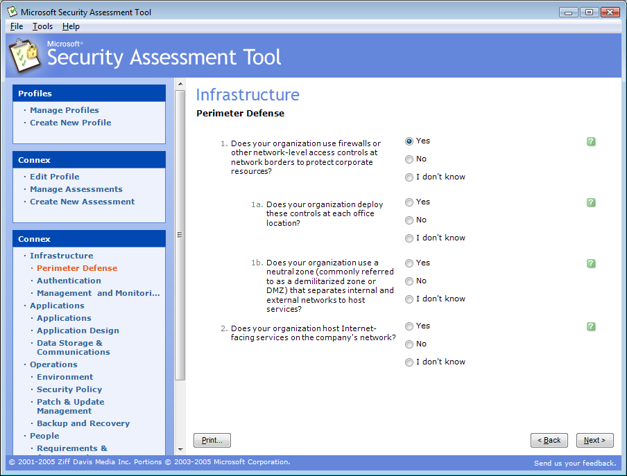 IS and Risk Management MSRAT (Microsoft Security