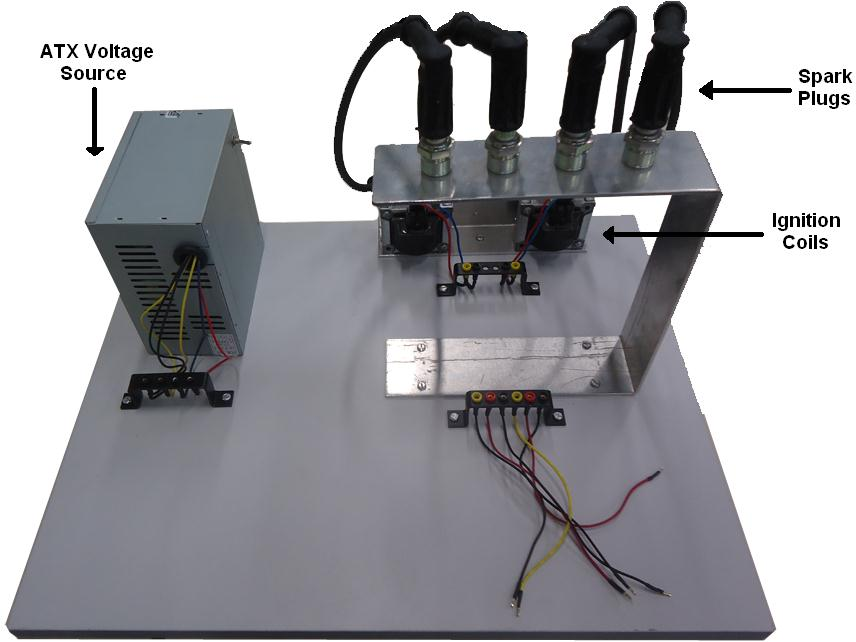 Image 9 Ignition Set 4 Obtained Results The didactic set, object of the present study are already used in demonstration lessons in the discipline of Sensors and Actuators in the Technology course in