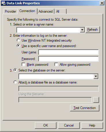 22 Software Configuration and User Administration Nome do Servidor DB Ambas as configurações são possíveis aqui! Nome de usuário e senha do MS-SQL DB- User Permitir salvar a senha para o arquivo *.