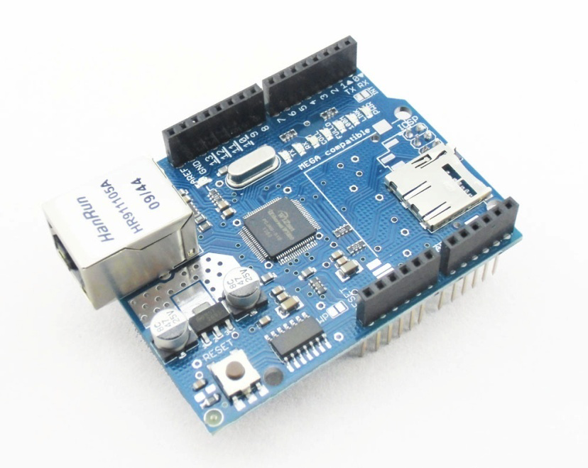 34 3.5.2 Shield Ethernet O Arduino Ethernet ShieldW5100 ilustrado na Figura 3.