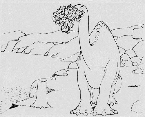 Fig. 3.17 - Gertie the Dinosaur (1914).