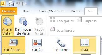 conta do Outlook e
