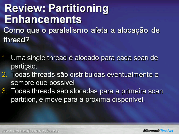 Review: Partitioning