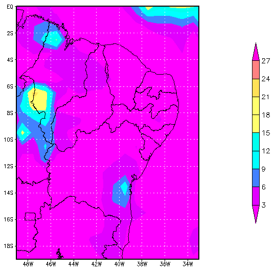 73 Figure 4- Images the UV index, total ozone and cloud cover for February 16, 2005.