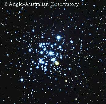 In 1930, Robert Trumpler estimated distances of about 100 open star clusters by measuring: - angular size of the cluster - central