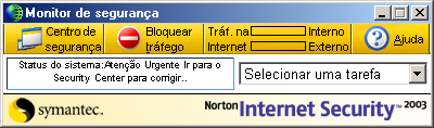 Princípios do Norton Internet Security Trabalhar com o Norton Internet Security 53 Para alterar configurações para contas individuais 1 Abra o Norton Internet Security.