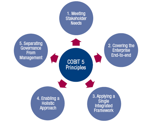 CobiT 5 Principles Source: COBIT 5, figure 2.
