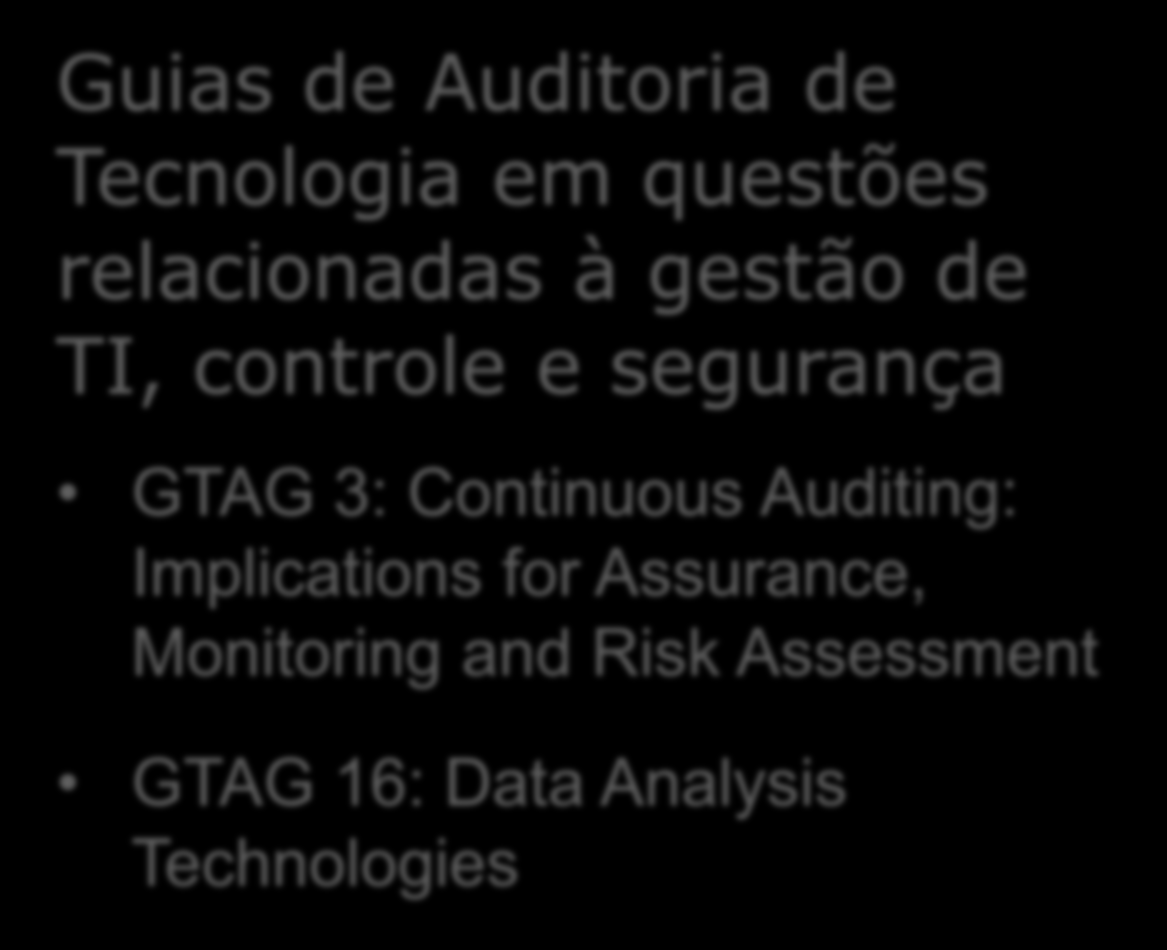 GTAG 3: Continuous Auditing: Implications for Assurance,